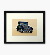 1932 Packard Sedan Framed Print