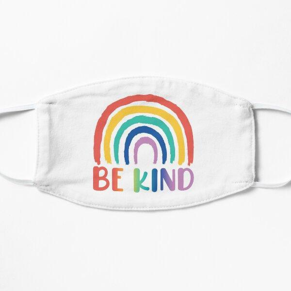 Be Kind   Choose Kindness   Choose Kind   Be Kind Rainbow Flat Mask