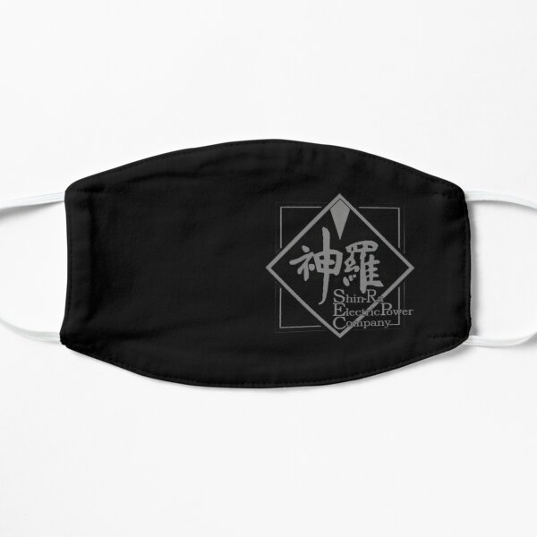 ShinRa Face Mask Basic Flat Mask