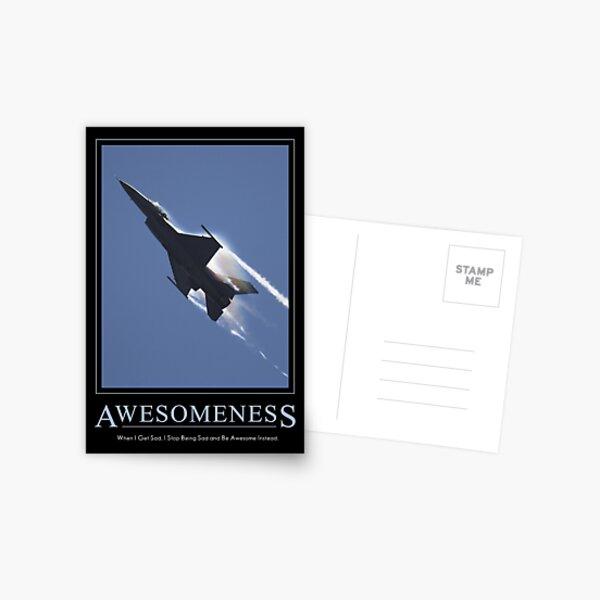 Awesomeness Postcard