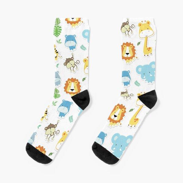 Kleine Tierbabys Socken