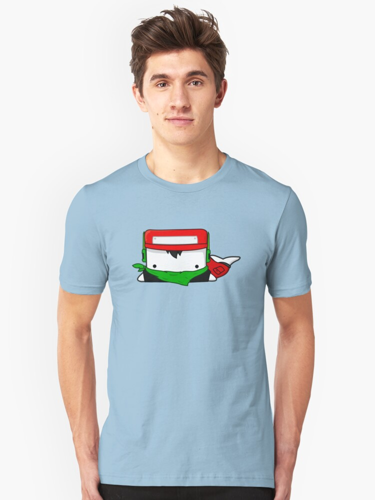Quote - Cave Story Whailz Tee Unisex T-Shirt Front