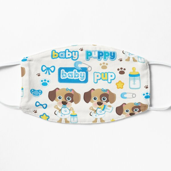 Little Baby Puppies Flat Mask