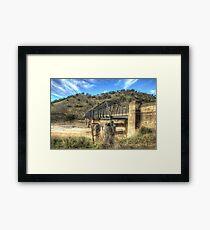 Taemas Bridge NSW  Australia  no 2  Framed Print
