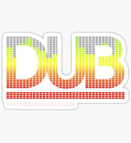 DUB Sticker