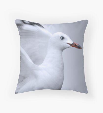 plain beauty Throw Pillow