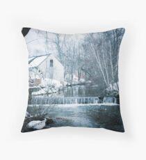 Bridgton, Maine Throw Pillow