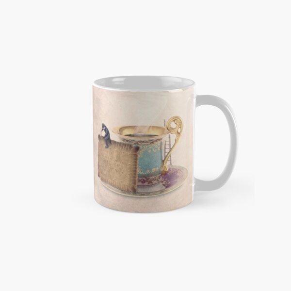tea cup with cake Classic Mug