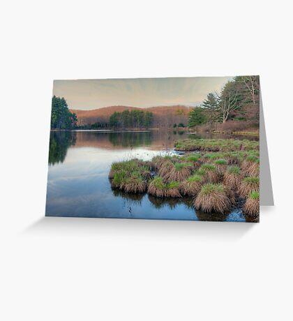 Lake Nawahunta - Harriman Park Greeting Card