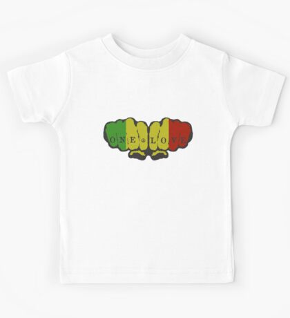 One Love Fists Kids Clothes