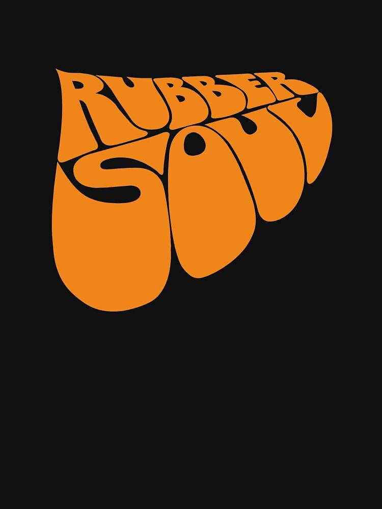 BEST SELLER - Rubber Soul Logo Merchandise by crosssville