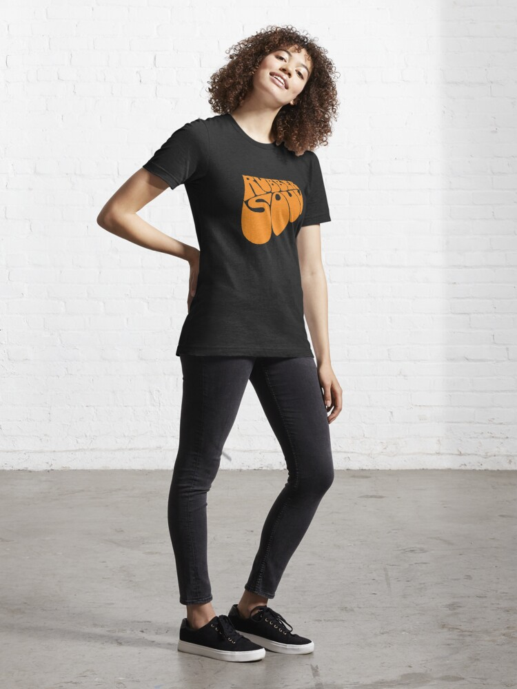 Alternate view of BEST SELLER - Rubber Soul Logo Merchandise Essential T-Shirt