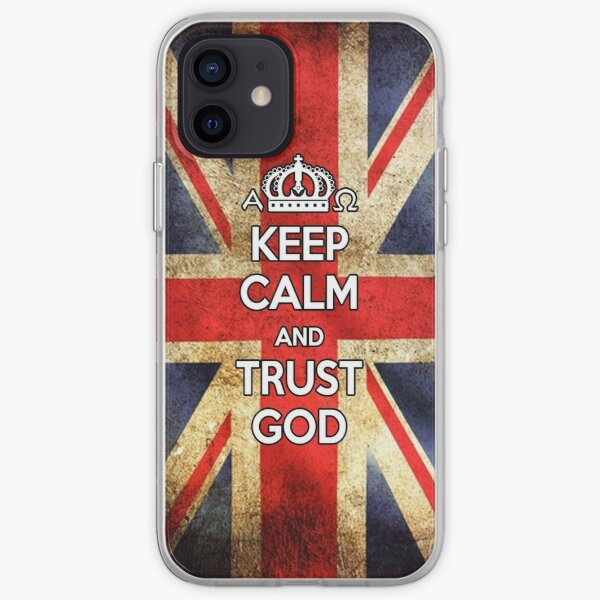 Religious Christian iPhone 6s Case Cover British Flag iPhone Soft Case
