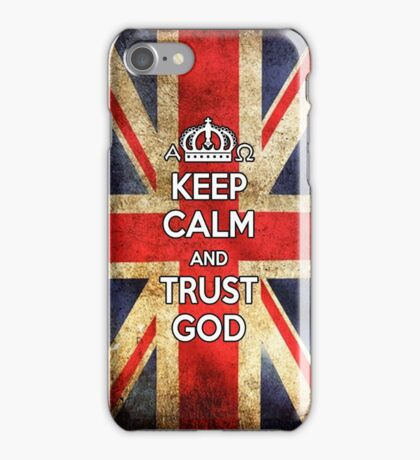 Religious Christian iPhone 6s Case Cover British Flag iPhone Case/Skin