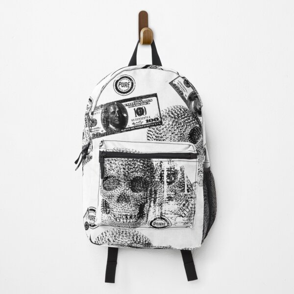 Retrospective Book Bag (Skull) Backpack