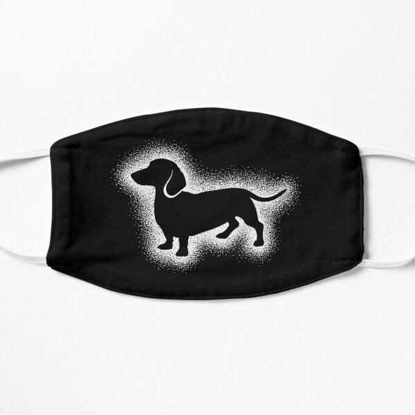 DACHSHUND BY SUBGIRL. My hand drawn cute little dachshund Flat Mask