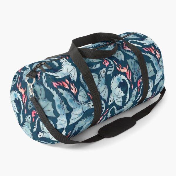Dragon fire dark blue Duffle Bag