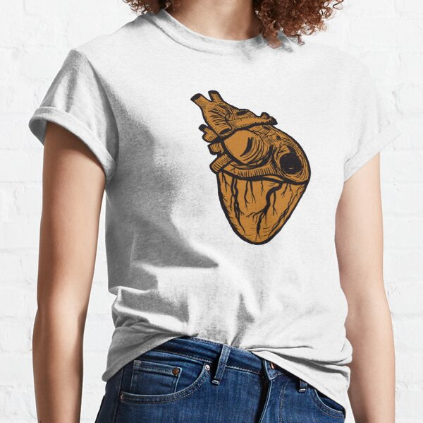 Sketched Heart Classic T-Shirt
