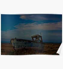 Dungeness Boat Poster