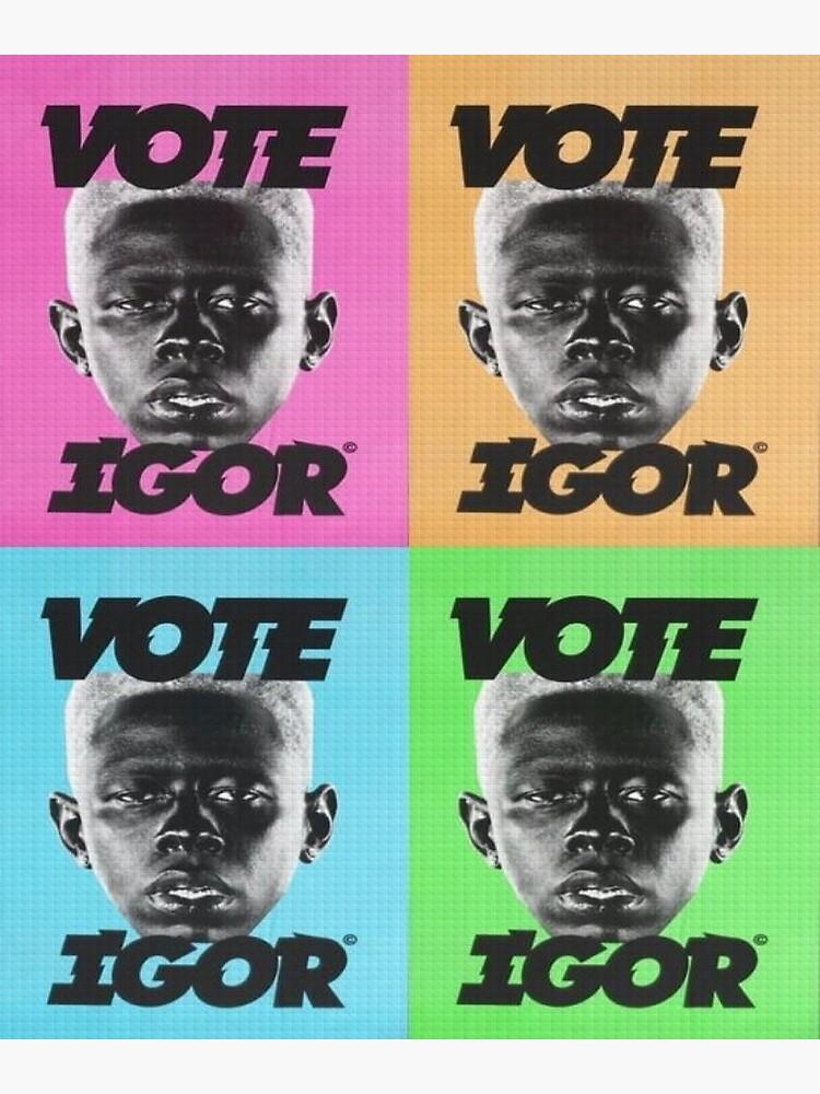 """Vote Igor"" Poster by ReggiesCloset   Redbubble"