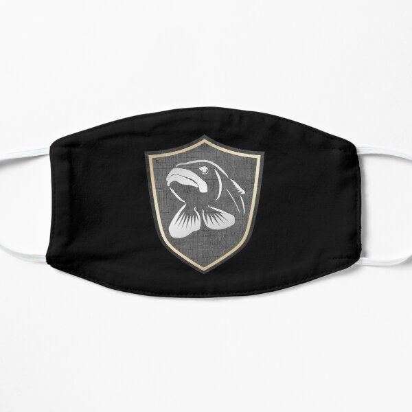Muskie Fishing - Coat Of Arms Mask