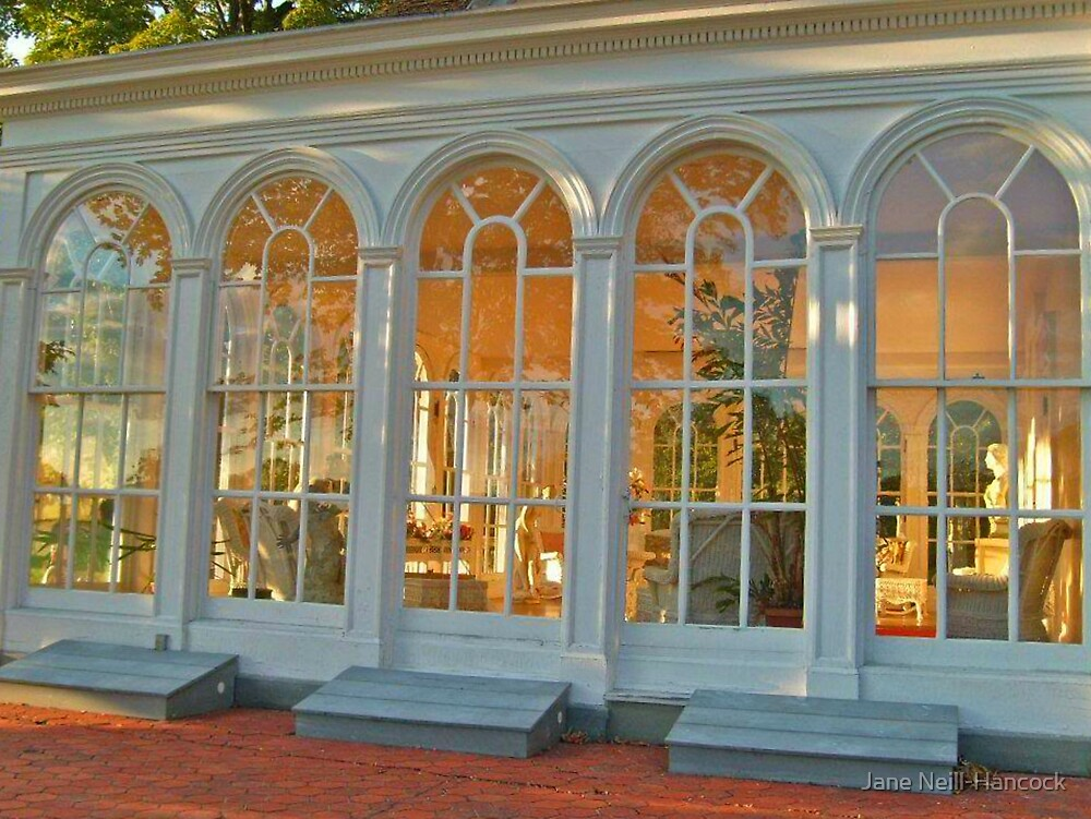 The Enchanting Solarium at Ringwood Manor by Jane Neill-Hancock