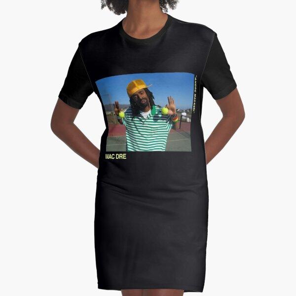Mac Dre Fan Art Mac Dre, da u.s. open, Mac Dre Thizz The mac named Dre Mac Mother Fucking Dre Hyphy Merch & Gear Graphic T-Shirt Dress