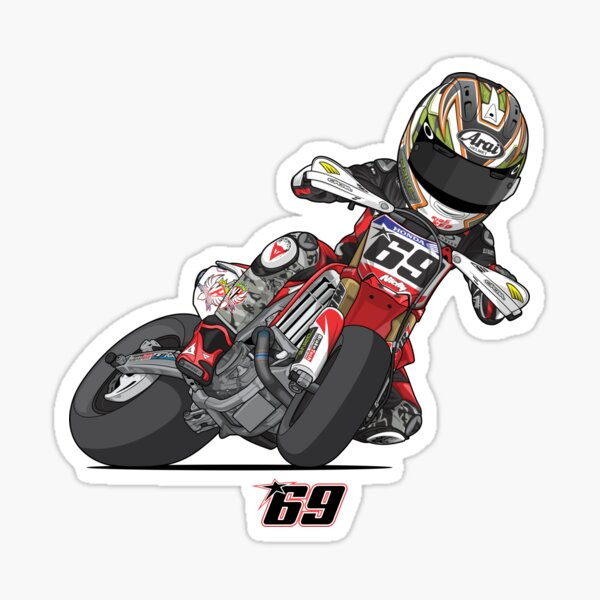 NICKY HAYDEN SUPERMOTO Sticker