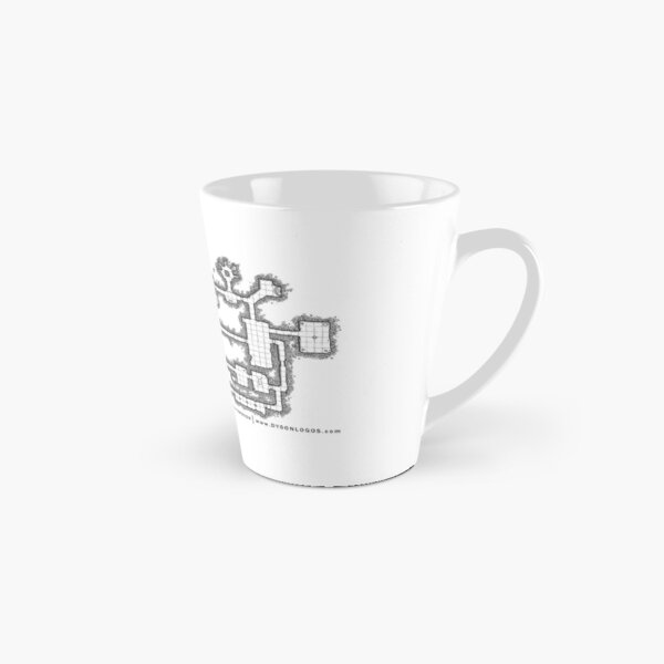 Dungeon Map - Lost Temple Tall Mug