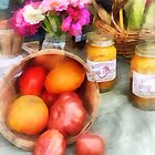 Tomatoes and Peaches by Susan Savad