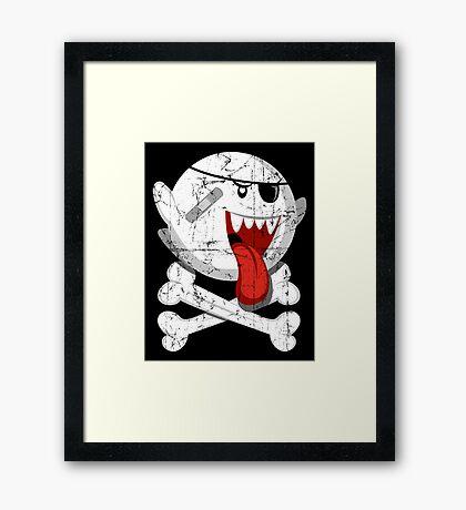 Pirate Boo! Framed Print