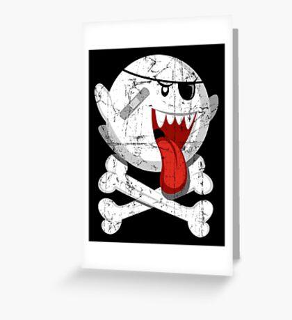 Pirate Boo! Greeting Card