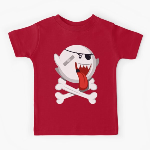 Ghostbusters Super Mario Boo Ghost Symbol Parody Funny Toddler Kids Tee T-Shirt