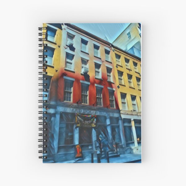 Downtown NYC Spiral Notebook