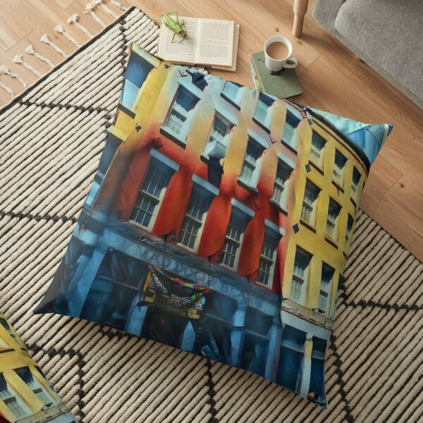 Downtown NYC Floor Pillow
