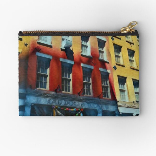 Downtown NYC Zipper Pouch