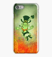 Irish Leprechaun Clapping Feet iPhone Case/Skin