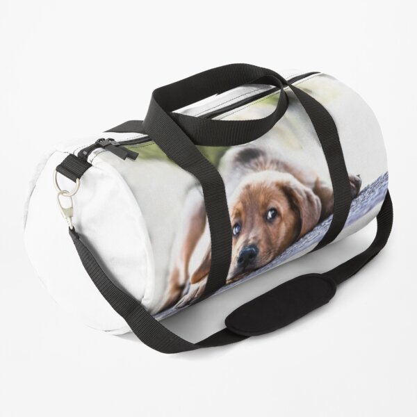 Puppet Dog Duffle Bag