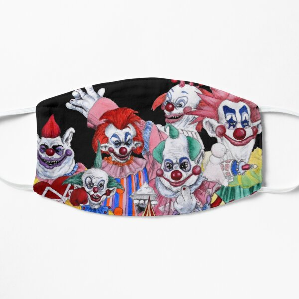 Killer Klowns From Outer Space! Flat Mask