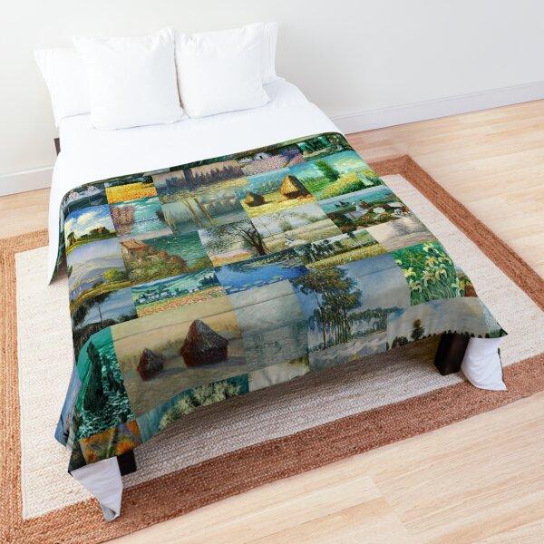 Claude Monet Comforter