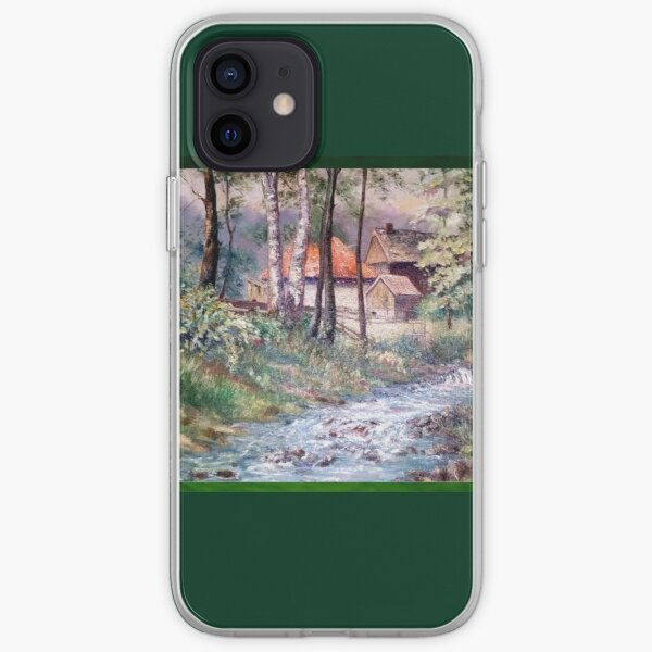Peaceful Homestead by Max Lewis iPhone Soft Case
