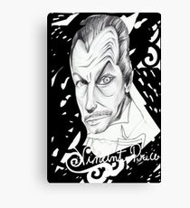 Vincent Price Canvas Print