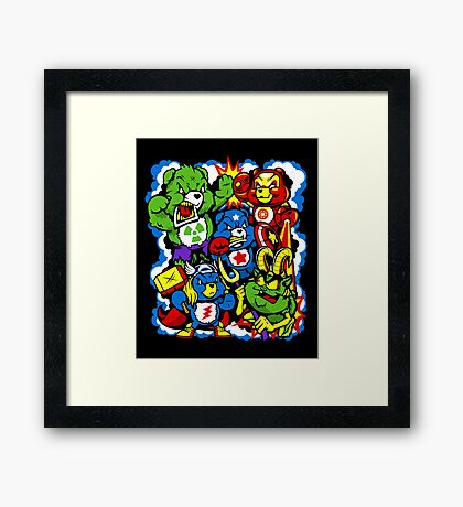 The Care Initiative  Framed Print