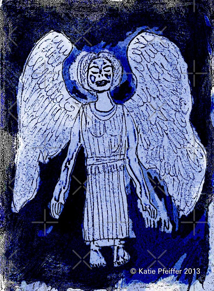 Blue Angel by Kater