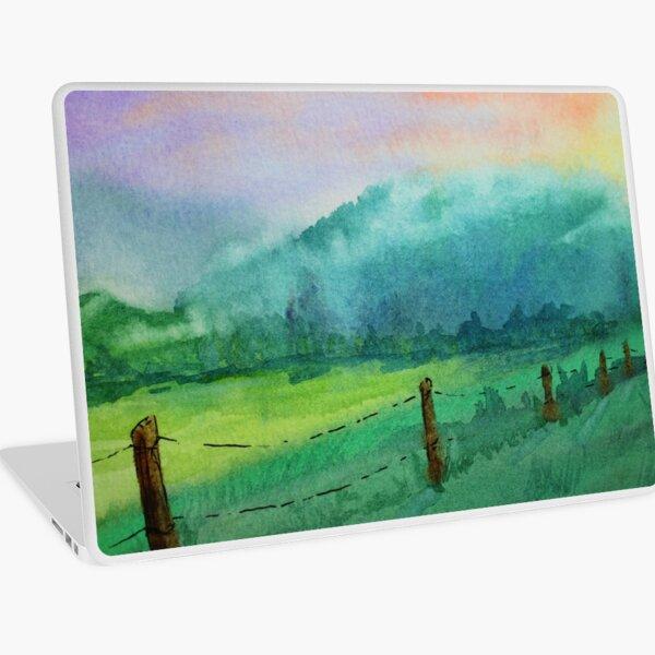 Appalachian Valley: Cades Cove TN Laptop Skin
