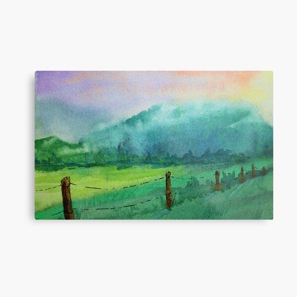 Appalachian Valley: Cades Cove TN Metal Print