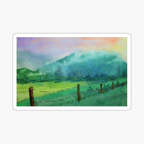 Appalachian Valley: Cades Cove TN Sticker