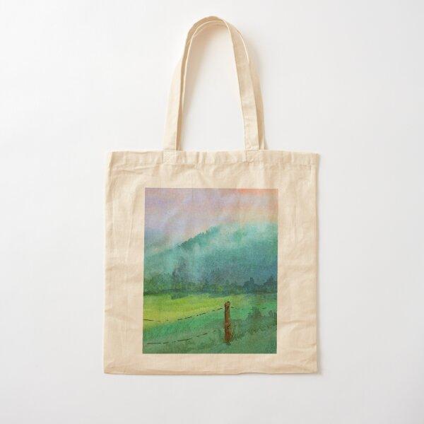 Appalachian Valley: Cades Cove TN Cotton Tote Bag