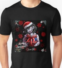 Creepypasta- Merry Chirtsmas from Jeff! Unisex T-Shirt