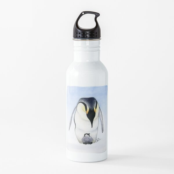 Emperor Penguin and Chick Water Bottle
